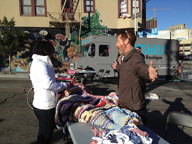 Crochet Jam, Activate McCoppin, San Francisco