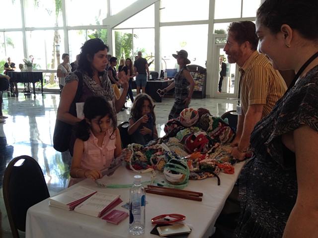 Crochet Jam, NADA MiamiBeach, sponsored by ARTADIA