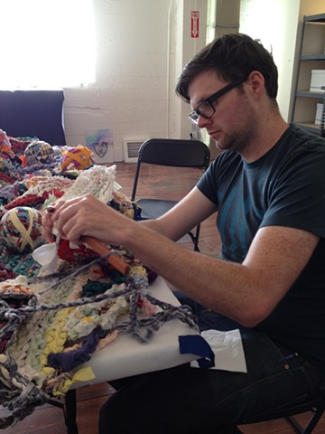 Crochet Jam, Root Division, San Francisco with Jon Gourley
