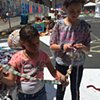 Crochet Jam at Intersection for the Arts' Common Ground Arts Festival, San Francisco  2017