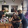 Crochet Jam, Get High On Mountains: Artists & Creative Space, San Francisco