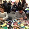 Crochet Jam, Radical Craft Night, San Cruz Museum of Art & History, Santa Cruz, California