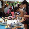 Crochet Jam at ArtSpan + 20th Street Block Party, Mission district, San Francisco