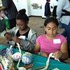 Crochet Jam, SF Art Span, Family Art Day
