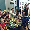Crochet Jam with Stonewall Alliance at monca, Chico, CA