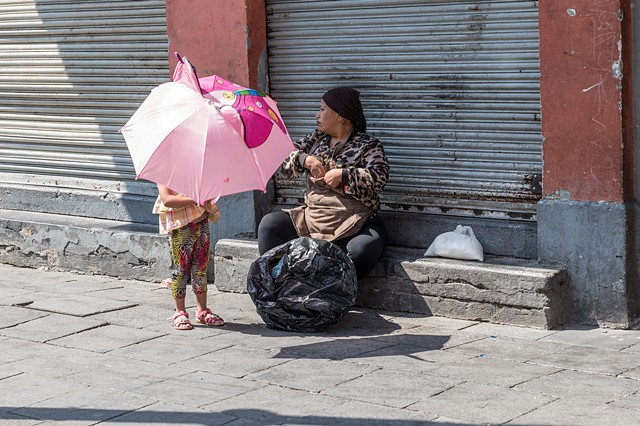 Pink Umbrella, Mexico City
