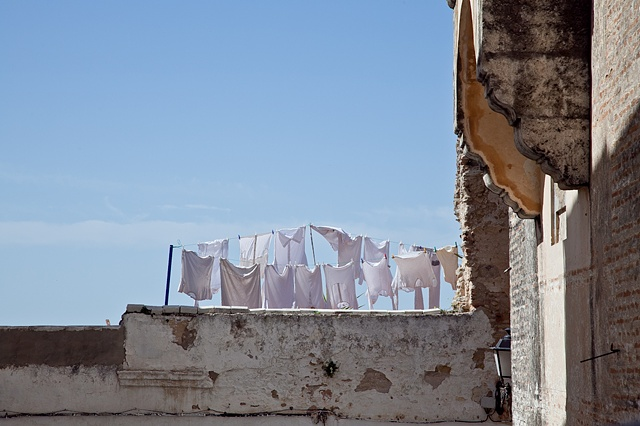 Laundry in Arcos, Spain
