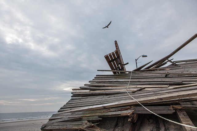 Broken Boardwalk, Long Beach, NY