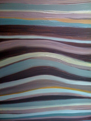 textural blend of colors in contemporary composition