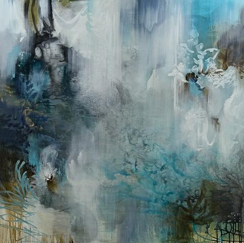 contemporary organic paintings