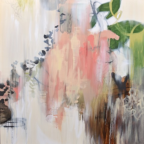 contemporary organic paintings