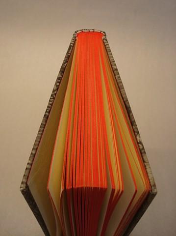 Papercase binding (detail)