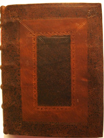 18th Century Style binding (tooling detail)