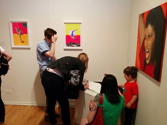 """""""Ovarian, by Nature"""" at Feminism (n.), Plural in Chicago, IL, May 15, 2015"""