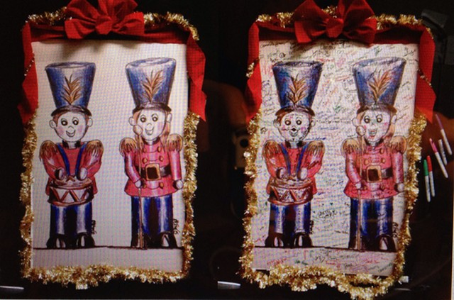 Poster of Nutcrackers signed by Behind the Scenes people