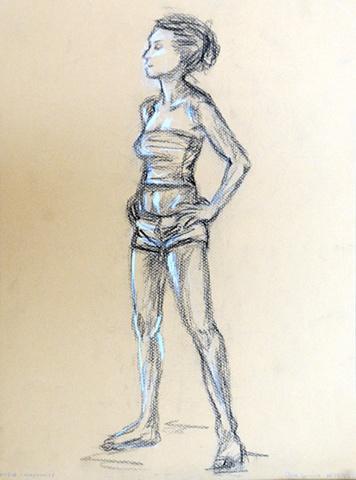 suzy: standing pose