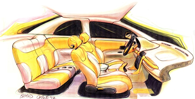 Saturn S-Series Interior Concept