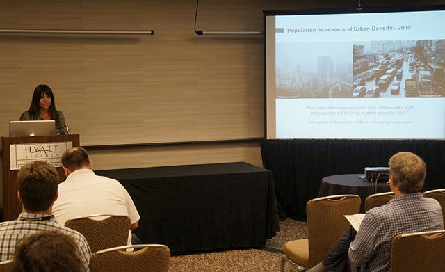 Presentation on Systems Thinking in Chicago at the IDSA Conference