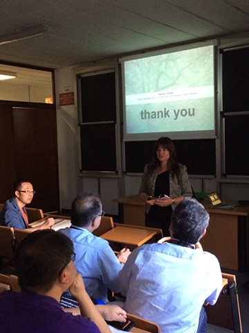 Presentation on Systems Thinking at Politecnico di Torino Italy