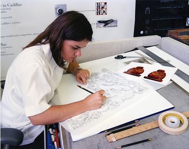 Brigid O'Kane Drawing