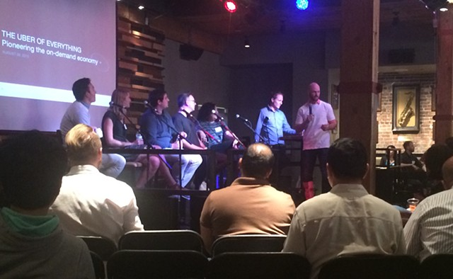 Uber Discussion Panel - Seattle Washington - attended.