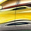 Aztek Concept Rendering Yellow Rear 3/4 View