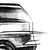 Cadillac Escalade Concept Sketch 05 Side View