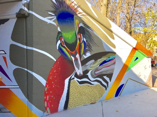 2016: Audubon Mural Project