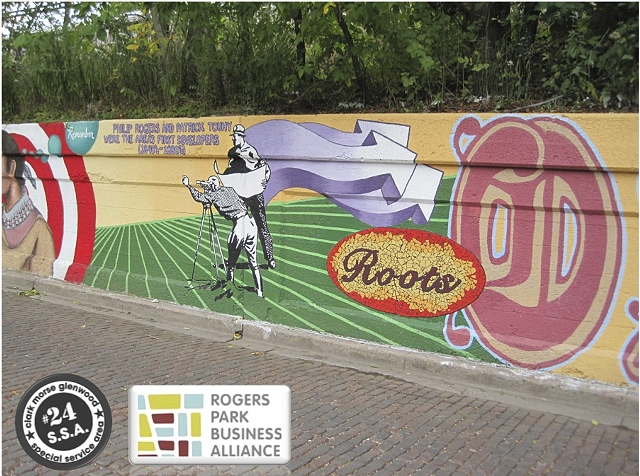 MILE OF MURALS : A Rogers Park Project