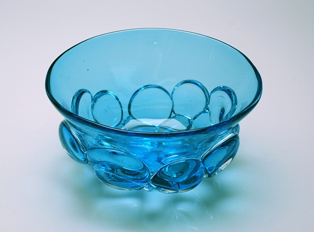 Blue Scrying Bowl