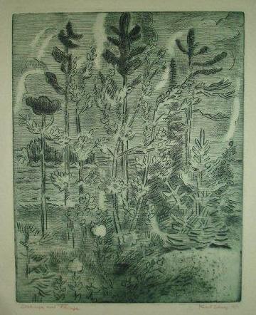 Karl Schrag, artist, printmaker, Turtle Gallery, Deer Isle, Maine, Stonington, Blue Hill, Bar Harbor