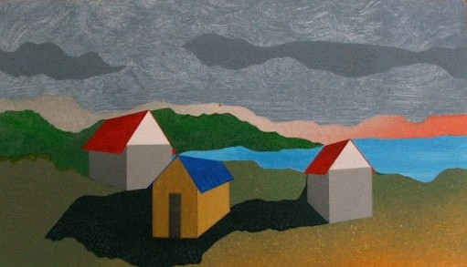 Richard Wands, artist, painter, Turtle Gallery, Deer Isle, Maine, Stonington, Blue Hill, Bar Harbor
