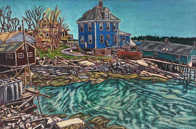 Jeff Loxterkamp, The Turtle Gallery, Deer Isle, Maine