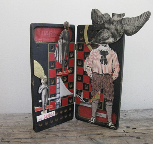 Margaret Rizzio, artist, collage, Turtle Gallery, Deer Isle, Maine, Blue Hill, Bar Harbor, Stonington, Ellsworth