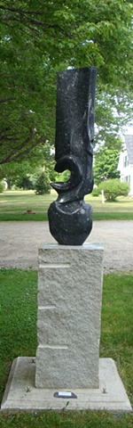 David Sywalski, stone, sculpture, Turtle Gallery, Deer Isle, Maine, Stonington, Blue Hill, Bar Harbor
