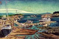 Jeff Loxterkamp, The Turtle Gallery, Deer Isle, Maine, artist, art, paitings, Stonington, Blue Hill, Bar Harbor