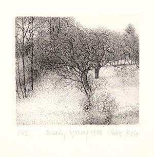 Vaino Kola print Ekely, Spring Turtle Gallery Maine