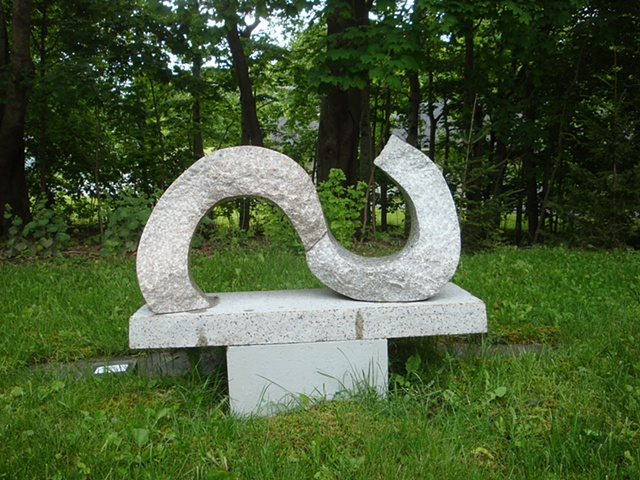 Miles Chapin, sculptor, Turtle Gallery, Maine