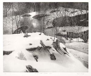 Vaino Kola print Ekely Late Winter Turtle Gallery Maine