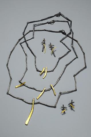 Glenda Arentzen, mixed metals, jewelry, Turtle Gallery, Deer Isle, Stonignton, Blue Hill, Bar Harbor, Maine