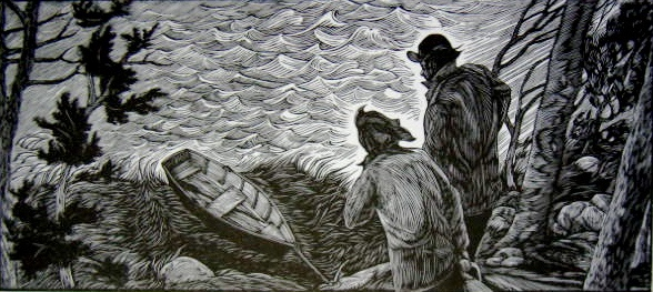 Siri Beckman print, artist, Turtle Gallery, Deer Isle, Maine