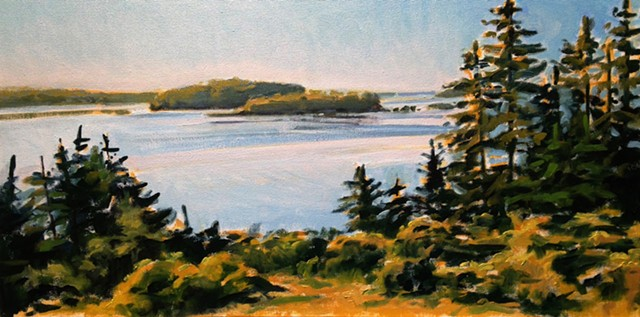 Nina Jerome, The Turtle Gallery, Deer Isle, Maine, Artwork