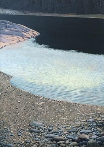 Vaino Kola painting oil on canvas McNamara Cove, No. 2 Turtle Gallery Maine