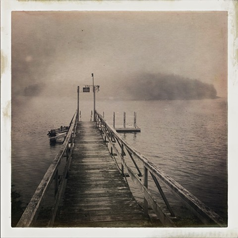 Lydia Cassatt, The Turtle Gallery, Photography, Digital Photography, Deer Isle, Maine, Hipstamatic, Black and White