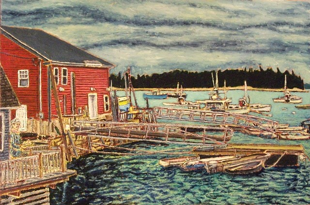 Jeff Loxterkamp, artist, painter, Turtle Gallery, Deer Isle, Maine, Stonington, Blue Hill, Ellsworth, Bar Harbor