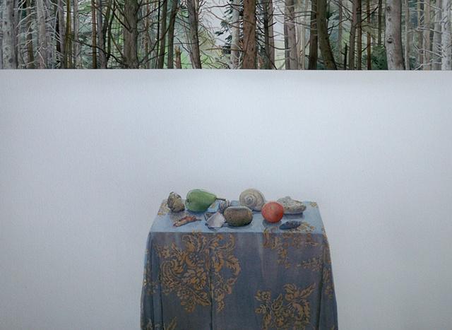 Mary Aro, painting, artist, Turtle Gallery, Deer Isle, Maine
