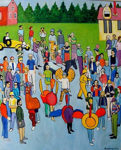 Howard Fussiner, artist, painter, Turtle Gallery, Deer Isle, Maine, Stonington, Blue Hill, Bar Harbor
