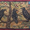 Three Crows in the Cherry Tree