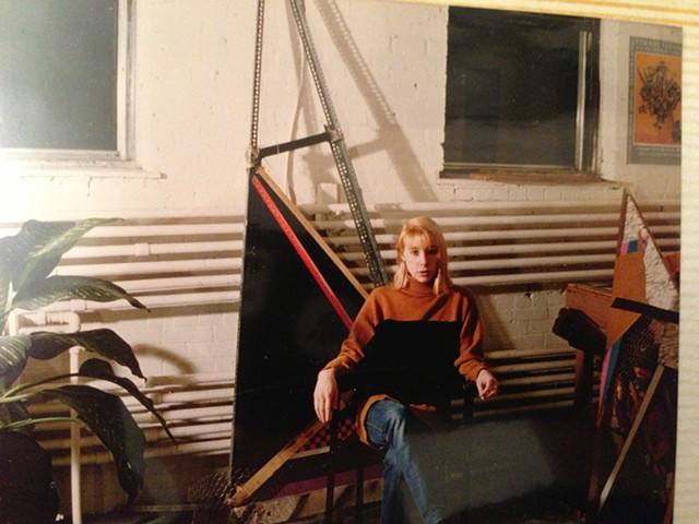 1st studio, 46 Noble St., Toronto, 1981-1983