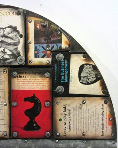Gagne assemblage art Ottawa book+art